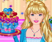 Barbie Cupcakes Dekoration
