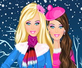 Barbie Winter Kleidung