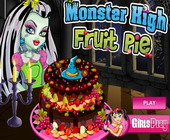 Monster High Obsttorte